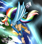 Rainbow Dash by XPTZ-Studios