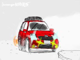 Snow Vitz by ngarage