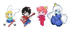 Adventure time Chibis by ManouAzumi