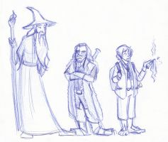 Trio of Adventurers by kuabci