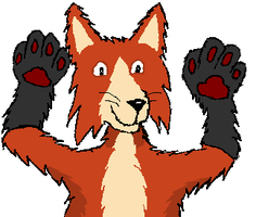 Handpaws by RoseHexwit