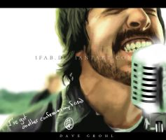 Dave Grohl 2 by 1FAB