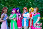 Winx Club Russian: Retro Cosplay (Season 7) by UnaFata