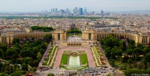 Paris - Trocadero by bsilvestre