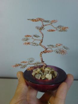 Miniature Wire Bonsai Tree  13-2 Not avaiable by sinisaart