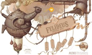 Steampunkish Header by Felideus