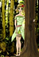 In The Woods by mintOskitties