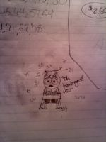 Butters Math Doodle by TheRealTDAGeena