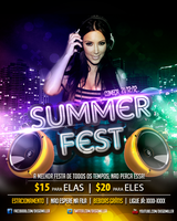 Flyer Summer Fest by diegowd