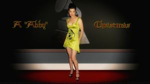 Pauley Perrette Abby Christmas by Dave-Daring