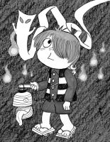 Spooky Kitaro by Cattype