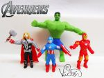 The Avengers by VictorCustomizer
