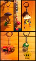 Keychains by Mowito