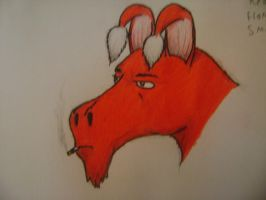 Great Red Dragon by Thylacine333