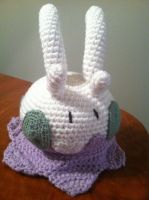 Goomy Crochet Plush Pattern by Ookamichan423