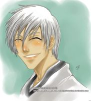 Gin Ichimaru -quick color by Dawitch