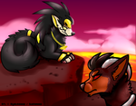 Gift: Horus and Asher by SushiMeep
