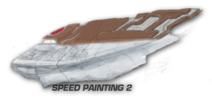 EVE Ship painting 2 by VanKaiser