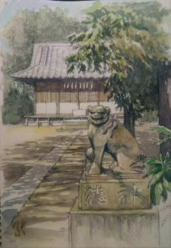 Komainu by blacktsubu