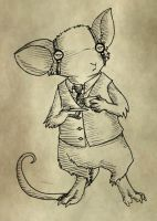 Steampunk Mouse Guard by RobinF