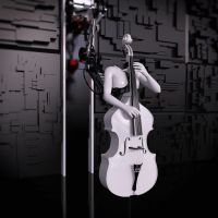 SKNAIL's double bass player by SKNAIL