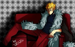Laxus|Fairy Tail by ToNDWOo