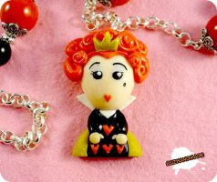 FIMO - The Queen of Hearts by buzhandmade