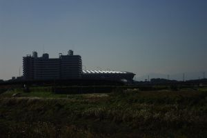 Nissan Stadium by RobVinc