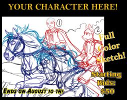 YCH Auction Ends August 10th by lady-cybercat