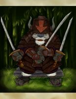 Avatar TLA - Warrior Appa by Miki-