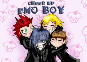 Smile, Little Emo by homicidalbunny