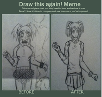 Draw This Again! Meme by AbominalSnowDemon