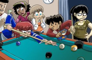 Dumbing of Age: Pool by itswalky