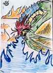 Dragon whit Color by Shafir100