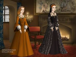 Mary Tudor Duchess of Suffolk ex-Queen of France by TFfan234