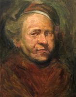 Day 12 - Rembrandt Study by 2013