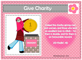 Give Charity 1 by littleMuslimah