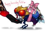 Happy bzzday petit by J-J-Joker