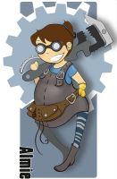 The engineer - Team Fortress 2 by Anima-en-Fuga