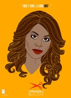 Orange Is The New Black: Sophia by e-carpenter