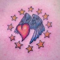 Heart with Stars by Mr-Taboo