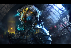 Astronaut_Concept practice 9 by ivany86