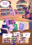 CM : Life in the library Tree -1 by bakki