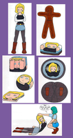 Android 18 by Maki12