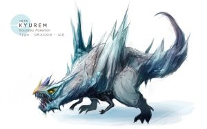 Kyurem by MrRedButcher