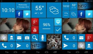 Windows Phone 8 UCCW skins by bagarwa
