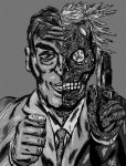 Two-Face by RoccoBertucci