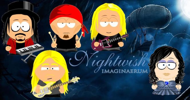 Nightwish South Park by BloodyFlame-IronName
