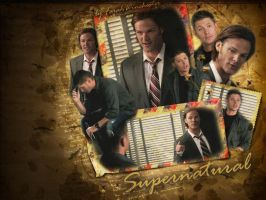 Supernatural scrap theme by farahwinchester