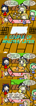 Leave Some For Me! [4Koma Friday] by AlyssaWalfas40